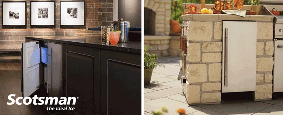 Scotsman ice machine and mini refrigerators | Abt