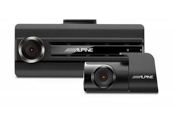 Large image of Alpine Premium 1080P Dash Camera Bundle (Front & Rear) w/ Impact Recording - DVR-C310R