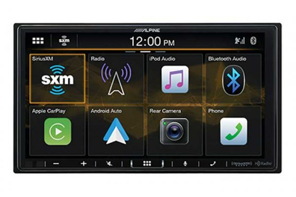 """Large image of Alpine 7"""" Multimedia Receiver For The 2018-Up Jeep Wrangler & 2020-Up Jeep Gladiator - I407-WRA-JL"""