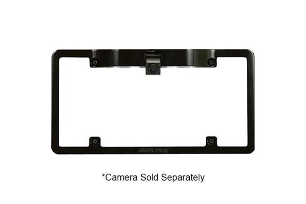 Large image of Alpine Rear View Camera License Plate Mounting Kit - KTX-C10LP