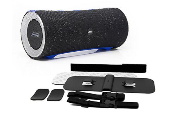 Large image of Alpine Turn1 Waterproof Bluetooth Speaker w/ Universal Mounting Bracket Package - AD-SPK1PRO