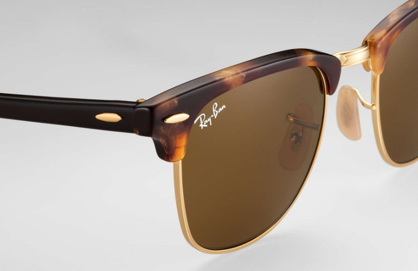 64ae76ff67a Ray-Ban Clubmaster Havana Sunglasses - RB3016 1160 49-21