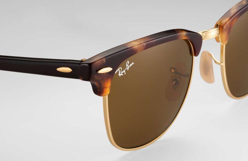 01e81066ea Ray-Ban Clubmaster Havana Sunglasses - RB3016 1160 49-21
