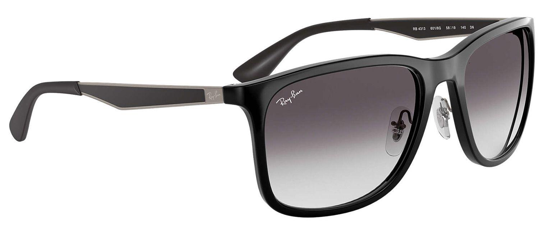 cfa6740de6 Ray-Ban Square Grey Gradient Sunglasses - RB4313 601 8G 58