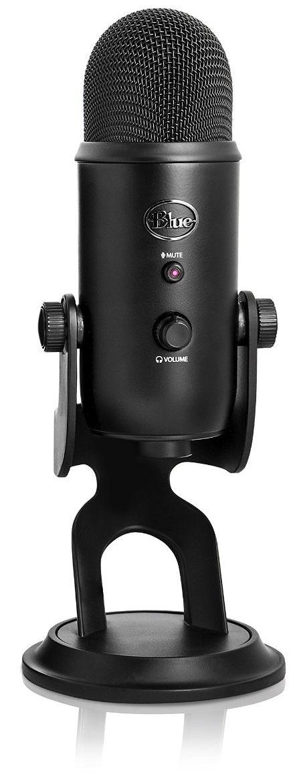 blue microphones blackout yeti usb microphone 2070. Black Bedroom Furniture Sets. Home Design Ideas