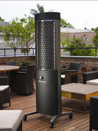 Grandhall Totum H 6 Natural Gas Outdoor Heater Thlso9ang