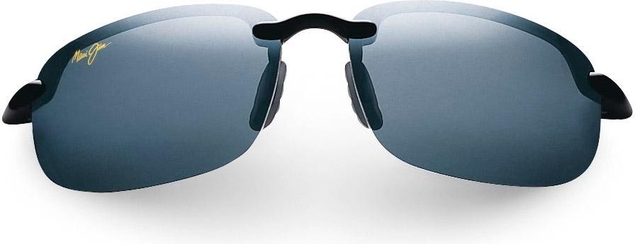 b18fcc7b00a Maui Jim Semi-Rimless Hookipa Neutral Grey Unisex Sunglasses - 407-02 · Maui  Jim 407-02 - Alternate Image