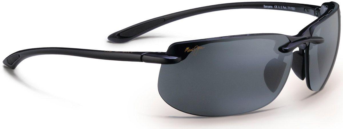 4ede5ab3fa37 Maui Jim Banyans Neutral Grey Rimless Mens Sunglasses - 412-02. Maui Jim  412-02 - Alternate Image