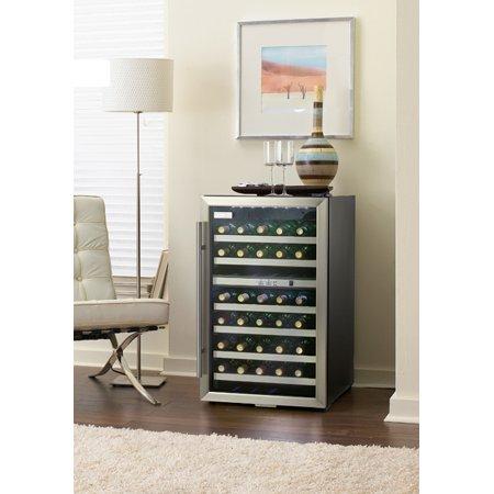 Danby 38 Bottle Stainless Wine Cooler Dwc114blsdd