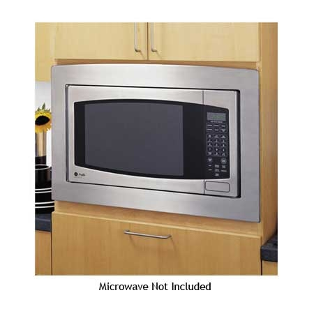 Ge 30 Built In Stainless Microwave Trim Kit Jx2130sh