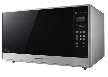 Panasonic 2 2 Cu  Ft  Stainless Steel Countertop Microwave
