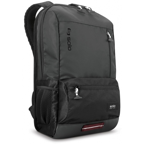 SOLO Varsity Collection 15.6 Black Draft Backpack - $43.01