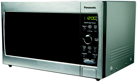 Panasonic Stainless Steel Countertop Microwave Oven