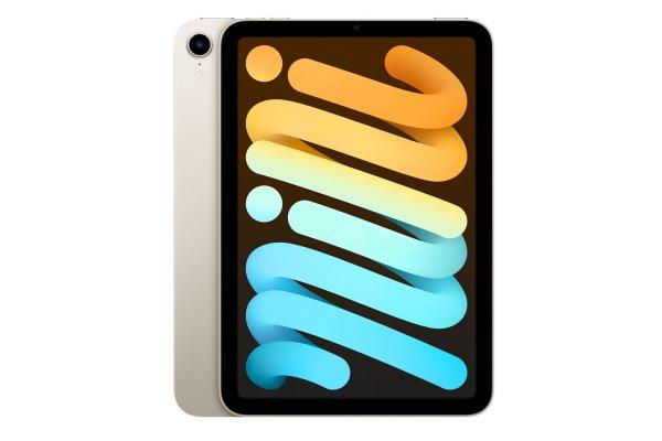 Large image of Apple iPad mini 8.3-Inch 64GB Wi-Fi Starlight (2021) - MK7P3LL/A