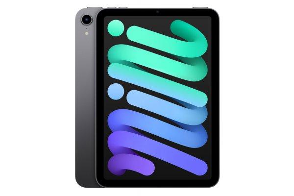 Large image of Apple iPad mini 8.3-Inch 64GB Wi-Fi Space Gray (2021) - MK7M3LL/A