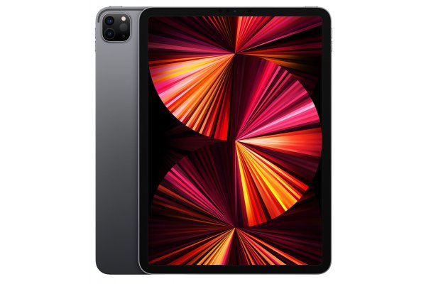 Large image of Apple iPad Pro M1 12.9-Inch 1TB Wi-Fi + Cellular Space Gray (2021) - MHP13LL/A