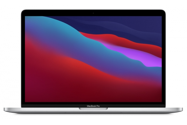"""Large image of Apple MacBook Pro 13.3"""" Silver Touch Bar And Touch ID Apple M1 Chip 512GB SSD Laptop Computer (Latest Model) - MYDC2LL/A"""