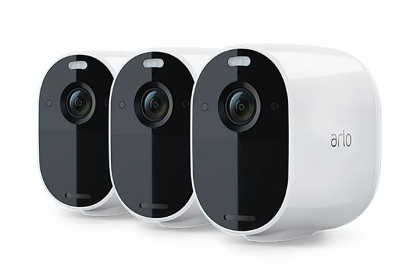 Large image of Arlo Essential White 3 Spotlight Camera Kit - VMC2330-100NAS