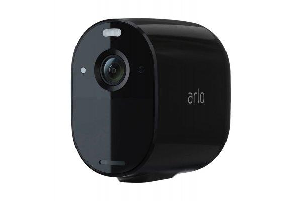 Large image of Arlo Essential Black Spotlight Camera - VMC2030B-100NAS