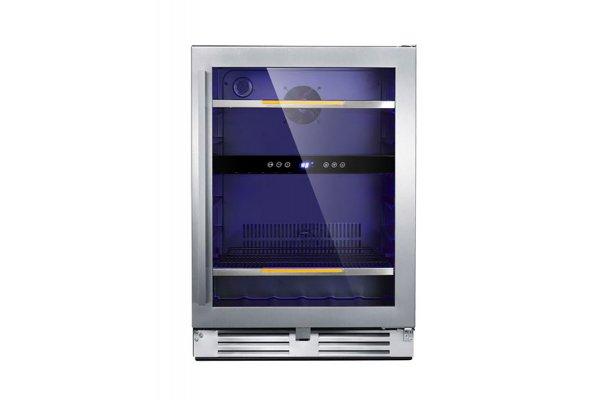 "Large image of Avanti Elite Series 24"" Stainless Frame Beverage Cooler - ARFSE55R3S"
