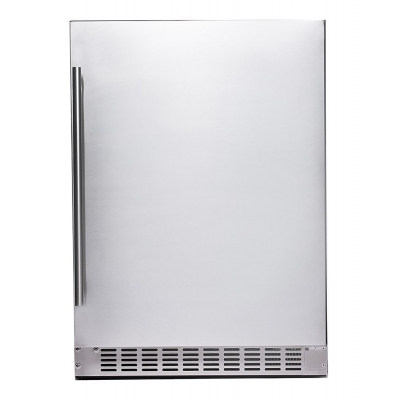 "Azure 24"" Stainless Steel Refrigerator"