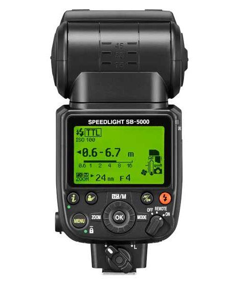 Nikon Sb 5000 Af Speedlight Camera Flash 4815