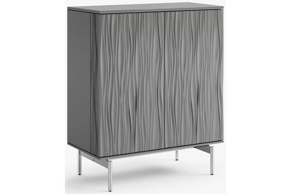Large image of BDI Tanami 7120 Fog Gray Bar Cabinet - 7120-FOG
