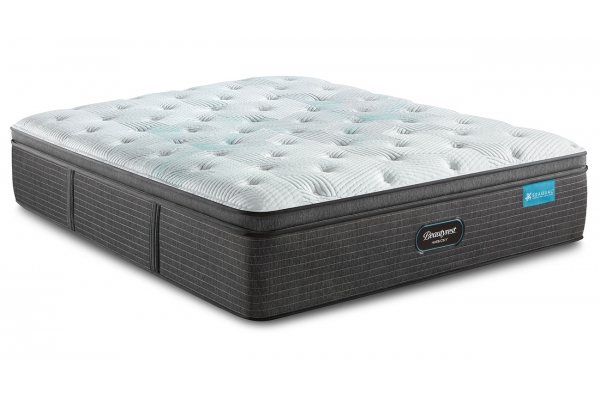 Large image of Beautyrest Harmony Maui Series Plush Pillow Top Queen Mattress - 700811054-1050
