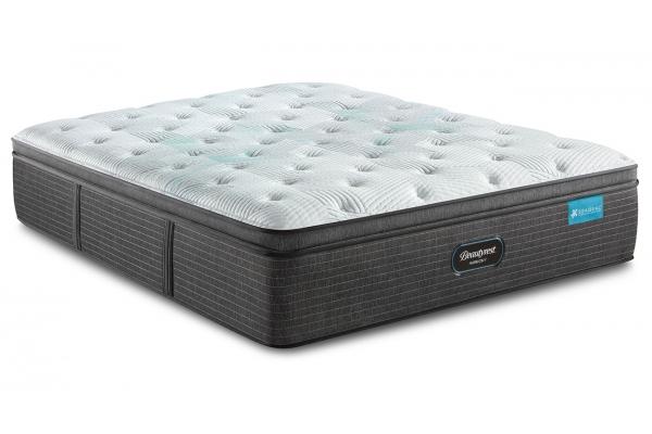 Large image of Beautyrest Harmony Maui Series Plush Pillow Top Twin Mattress - 700811054-1010
