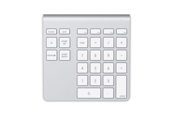 Large image of Belkin YourType Bluetooth Wireless Keypad - F8T068TT-APL