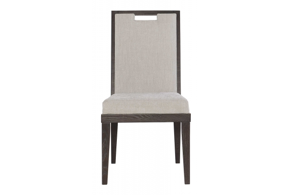 Large image of Bernhardt Decorage Cerused Mink Side Chair (2 Ct.) - 380-541