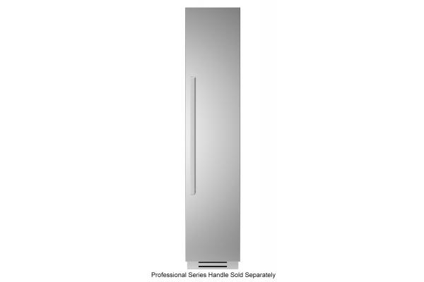 "Large image of Bertazzoni 18"" Stainless Steel Right-Hinge Built-In Freezer Column - REF18FCIPIXR"