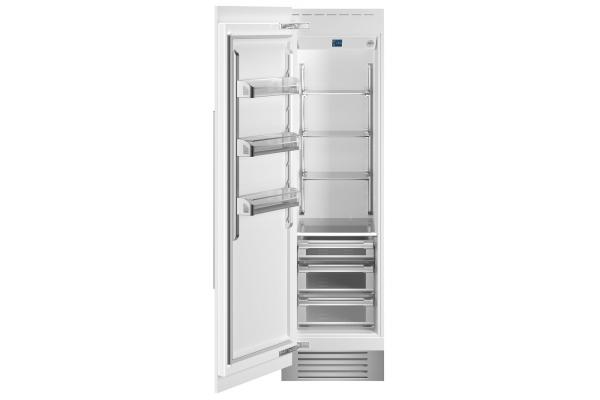 "Large image of Bertazzoni 24"" Panel Ready Left-Hinge Built-In Refrigerator Column - REF24RCPRL"