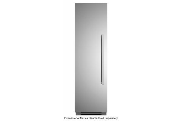 "Large image of Bertazzoni 24"" Stainless Steel Left-Hinge Built-In Freezer Column - REF24FCIPIXL"