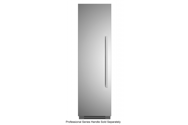 "Large image of Bertazzoni 24"" Stainless Steel Left-Hinge Built-In Refrigerator Column - REF24RCPIXL"