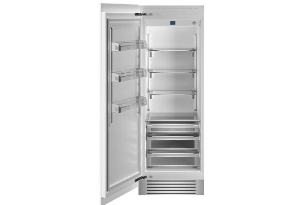 "Large image of Bertazzoni 30"" Panel Ready Left-Hinge Built-In Refrigerator Column - REF30RCPRL"