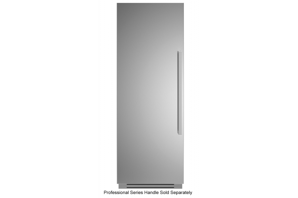 "Large image of Bertazzoni 30"" Stainless Steel Left-Hinge Built-In Freezer Column - REF30FCIPIXL"