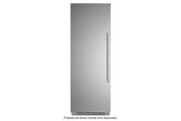 "Large image of Bertazzoni 30"" Stainless Steel Left-Hinge Built-In Refrigerator Column - REF30RCPIXL"