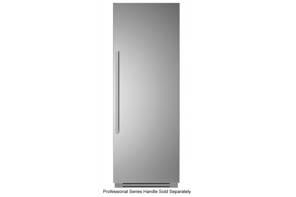 "Large image of Bertazzoni 30"" Stainless Steel Right-Hinge Built-In Freezer Colum - REF30FCIPIXR"
