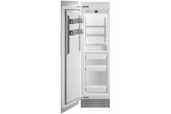 "Large image of Bertazzoni 24"" Panel Ready Left-Hinge Built-In Freezer Column - REF24FCIPRL"