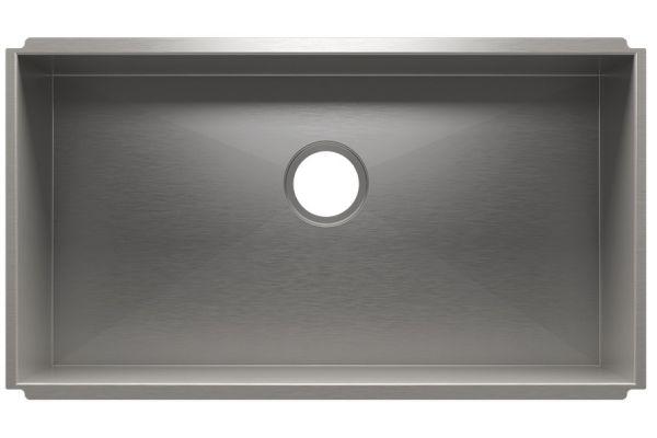Large image of Julien UrbanEdge Stainless Steel Undermount Sink - 003685
