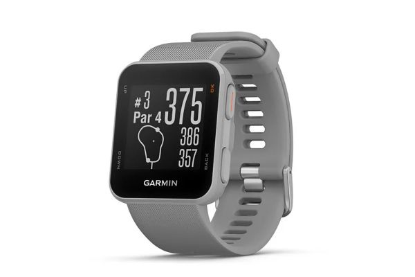 Large image of Garmin Approach S10 Gray Golf Watch - 010-02028-01