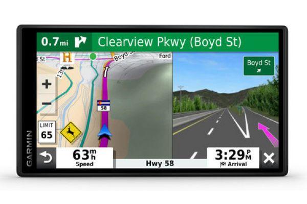 Large image of Garmin DriveSmart 65 & Traffic GPS Navigation System - 010-02038-02