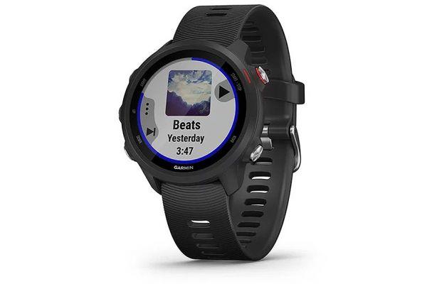 Large image of Garmin Forerunner 245 Music Black Smartwatch - 010-02120-20