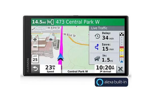 Large image of Garmin DriveSmart 65 Premium Navigator With Amazon Alexa - 010-02153-00