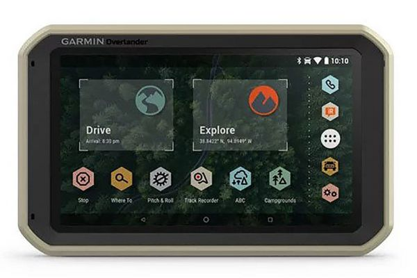"Large image of Garmin Overlander 7"" GPS Navigation System - 010-02195-00"