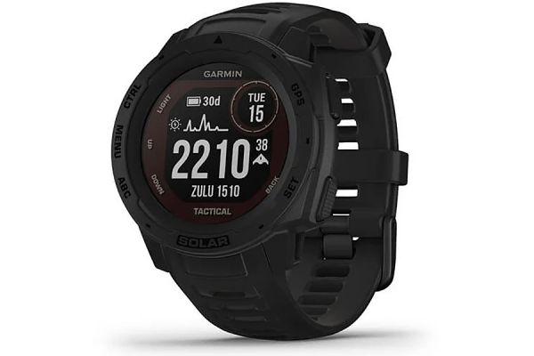 Large image of Garmin Instinct Solar Black Tactical Edition GPS Watch - 010-02293-13