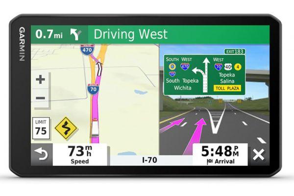 """Large image of Garmin Dezl OTR700 7"""" Trucking GPS Navigation System - 010-02313-00"""