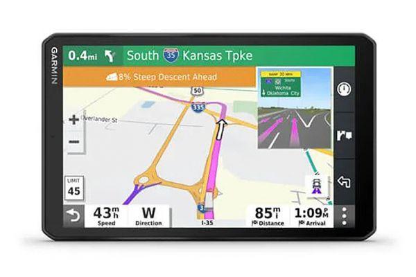 """Large image of Garmin Dezl OTR800 8"""" Trucking GPS Navigation System - 010-02314-00"""