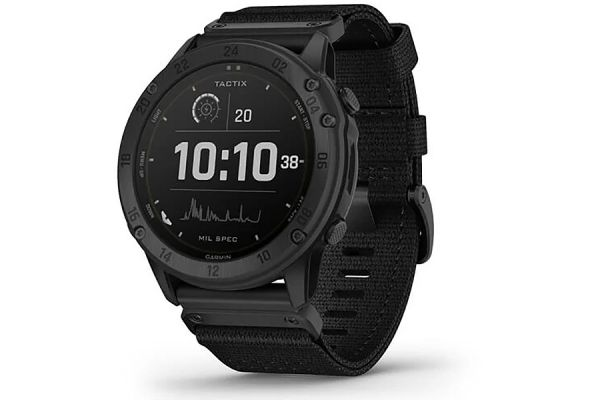 Large image of Garmin tactix Delta Solar-Powered Tactical GPS Watch With Applied Ballistics - 010-02357-50